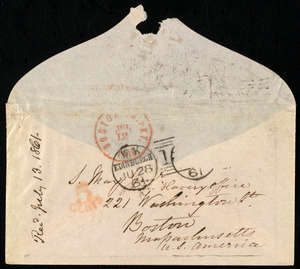 Letter from Eliza Wigham, Edinburgh, to Samuel May, 28.6.1861