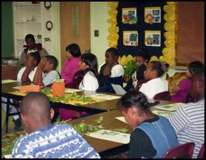 Gates Elementary Classroom Listening to Speaker San Antonio Chapter of Links Records