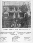 Colored orphans' home, 18th and Dumesnil Sts