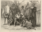 Group of Soudanese slave-girls, recently captured at Cairo