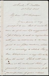 Letter from James Haughton, 35 Eccles St., Dublin, [Ireland], to Maria Weston Chapman, 31st Oct. 1845