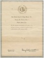 """""""Scroll of Honor"""" awarded to Virginia Foster Durr by the National Council of Negro Women, Inc."""
