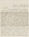 Letter from Constantine Badger to Timothy C. Moore, who had been a colonel in the 34th New Jersey Volunteer Regiment.