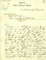 Owyang Ming letter to Governor Watson C. Squire thanking him for protecting Chinese residents during the February riots, April 27, 1886