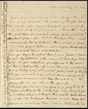 Letter to] Yes, dear friend [manuscript