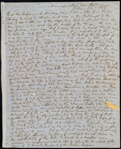 Letter from Richard Davis Webb, Drimnaugh Cottage, Dublin, [Ireland], to Maria Weston Chapman, July 1, 1857