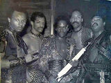 Planet Patrol pic after a performance at the Copa Cabana in NYC