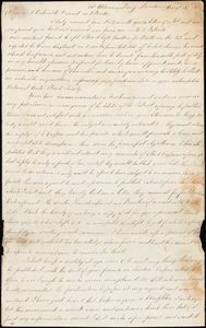 Letter from Joseph Phillips, 18 Aldermanbury, London, [England], to William Lloyd Garrison, [18]33 Aug[ust] 30
