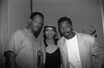 Keenan Ivory Wayans and Robert Townsend at a Black Women's Forum event, Los Angeles, 1991