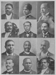 Chairmen of Local Committees; 1. Rev. I. Toliver, D. D., Homes; 2. Mrs. Julia Mason Layton, Missions; 3. Dr. W. H. Connor, Music; 4. Dr. M. W. Clair, Press and Promotion; 5. Rev. W. J. Howard, D. D., Finance; 6. Mr. W. L. Houston, Fraternal and Benevolent Organizations; 7. Rev. M. W. D. Norman, D. D., Reception; 8. Rev. M. W. Traverse, D. D., Ex-Chairman Committee on Public Comfort, now filled by Prof. Jesse Lawson; 9. Prof. John T. Layton, Musical Director; 10. Mr. J. A. Lankford, Decoration; 11. Rev. W. A. Blackwell, D. D., Pulpit Supply; 12. Rev. S. L. Corrothers, D. D., Transportation