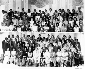 African American family reunion in Duluth