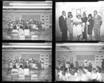 Set of negatives by Clinton Wright including Madison School Thanksgiving Program and Jefferson Center King & Queen Contest, November 1964