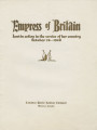Althea Hurst scrapbook, 1938. Page 79-80. Empress of Britain commemorative booklet