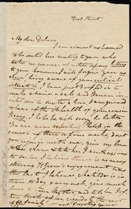 Letter from Sylvia Ann Ammidon, West Street, [Boston], to Deborah Weston, [March 1841?]