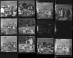 Set of negatives by Clinton Wright including Sheppard's anniversary, George Gant, Reverend Walker's Choir, Bethel Baptist baby contest, and Larry Slucher, 1967