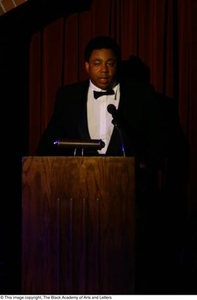 Vincent Cook Speaking at Podium Ali...The Man, The Myth, The People's Champion
