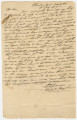 Letter from John Dabney Terrell in Pikeville, Alabama, to Jeremiah Pritchett in Marengo County, Alabama.