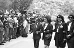 Sammy Davis Jr's. Funeral Service, Los Angeles, 1990