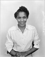 Manie Baugh, School Savings Department. Portrait photograph made for the Fulton National Bank of Atlanta, November 29, 1955