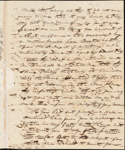 Letter from William P. Weeks, Canaan, [New Hampshire], to Amos Augustus Phelps, 1834 Aug[ust] 5th