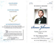 In loving memory of Simon Johnson, Tuesday, January 26, 2016, 11:00 a.m., Mt. Pilgrim Missionary Baptist Church, 431 S. Pinetree Blvd., Thomasville, Georgia, Rev. J.B. Duval, officiating minister