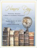 Honors Day Programs (2012)