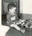 Little Boy at Typewriter