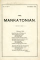 The Mankatonian, Volume 10, Issue 6, December 1898