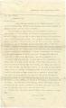 Letter from Edmund W. Rucker in Birmingham, Alabama, to Joel Barnett in Montgomery, Alabama.