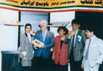 Iranian jazz singer at Iran Expo