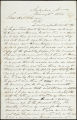 Charles B. Johnson correspondence, business records and receipts, 1864