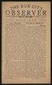 The Hub City Observer Volume 2, Number 48, June 22, 1929