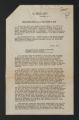 Press release, 1951. (Box 97, Folder 3)