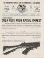 """Internacional,"" the newsletter of the International Anti-Communist Brigade."