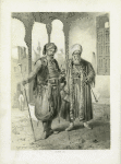 Janissary and Merchant. Cairo