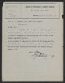 General Correspondence of the Director, Last Name M, 1914