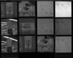 Set of negatives by Clinton Wright of Wonder World advertisement, 1967