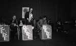 Alpha Kappa Alpha Sorority dance band soloist performing, Los Angeles, 1984