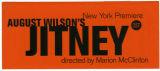 Jitney Flyer for New York Premiere