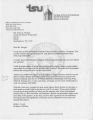 Mt. Olivet Cemetery: letter about research