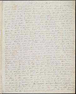 Letter from Anne Warren Weston, 39 Summer Street, [Boston], to Deborah Weston and Caroline Weston, January Thursday 23, 1845