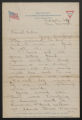 Letter: Wiley P. Killette to Mother, July 25, 1918