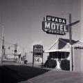 Film negative of Uvada Motel, [1956]