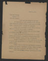 General Correspondence of the Director, Last Name B, 1914