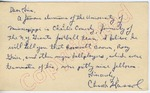 """Chuck Hassol to """"Dear Sirs"""" (Undated)"""