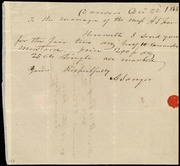Note] To the managers of the Mass. A.S. Fair [manuscript