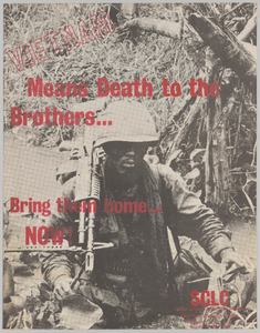 Poster against the Vietnam War