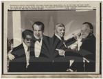Nixon, Sammy Davis Jr. and Bob Hope at POW Dinner