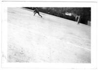 Baseball Player Throwing a Pitch, circa 1942