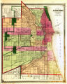 Map of the city of Chicago / Warner & Beers publishers